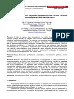 Impacto da Cooperativa na Gestão Orçamentária das Etecs  - PDF