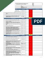 Diagnóstico de Linea Base de SGSST Ley 29873