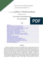 La Sfera pubblica e l'identità musulmana (6)