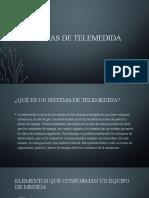 SISTEMAS DE TELEMEDIDA