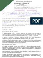 RESOLUCION 217 DE 2014 - CRC-MINISTERIO DE TRANSPORTE