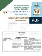 SESION 3 - QUINTO AÑO.docx