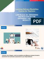 LDM-for-Teachers-Module-3A