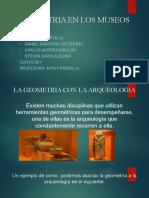 GEOMETRIA EN LOS MUSEOS