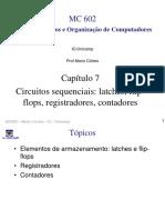 Capítulo 7 Circuitos Sequenciais_ Latches, Flipflops, Registradores, Contadores