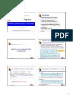 Circuitos Digitais. Conteúdo. Sistema de Numeração e Códigos __ Conversões de Binário Para Decimal SISTEMA de NUMERAÇÃO E CÓDIGOS