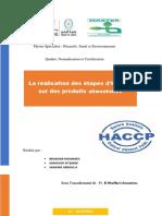 TD HACCP