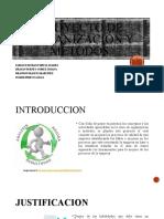 Proyecto de organización y métodos