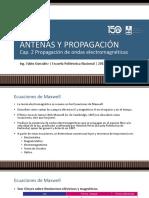 2. ANTENAS Y PROPAGACIÓN - FG - 2019B - Cap. 2
