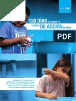 120 días de covid-19. 120 días de acción en el Perú. Unicef