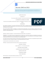 Decreto 2943 de 2013