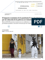 El impacto económico de la pandemia frena el optimismo por la reducción de la pobreza en Colombia _ Internacional _ EL PAÍS