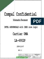 hp elitebook 8440p 8840W Compal LA-4902P UMA Rev 1.0 Schematics.pdf