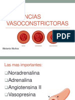 Sustancias vasoconstrictoras