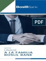 Brochure Proceso de Apertura de Cuentas - Boslil Bank