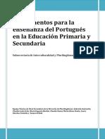 Fundamentos enseñanza Portugués