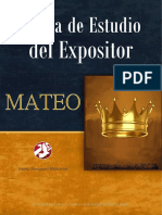 Biblia de Estudio del Expositor - MATEO - JSM