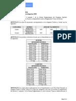 REGLAMENTO TECNICO DE BOXEO SUPERATE 2020 CADETES Y JUVENILES-FINAL