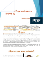 Presentación Emprendimiento Parte 1