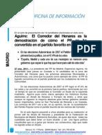 Presentación Candidatos Corredor Henares Elecciones 2011