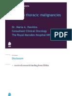 WS07 VMAT in Thoracic Malignancies