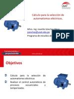 Control automático de procesos secuenciales y temporizados - Diseño y cálculo para la selección de motores.pdf