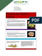Modelos de Gestión Pública