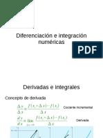 Unidad 06 - Diferenciacion e integracion numericas