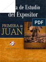 Biblia de Estudio del Expositor - 1° de JUAN - JSM