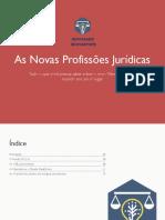 E-Book Novas Profissões Jurídicas