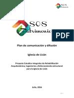 Plan de comunicación y difusión