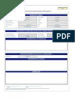Formato para solicitud de BT  SEVILLANO RURAL