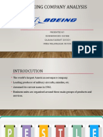 Boeing Company Analysis - Ops Group 1