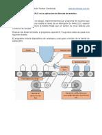 Implementación de un PLC en la aplicación de llenado de botellas