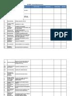 Gap analysis - ISO 3834 - Copy