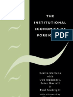 the institutional economics of foreing aid