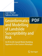 Geoinformatics and Modelling of Landslide Susceptibility and Risk An RS  GIS-based Model Building Approach in the Eastern Himalaya by Sujit Mandal, Subrata Mondal