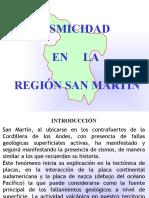 Sismicidad en la region San Martín 1