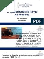 regularización predial en Honduras