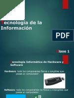 Semana 1 - Tecnología de la Información