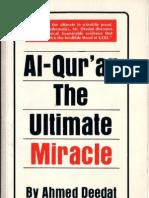 Al Quran the Ultimate Miracle by Ahmed Deedat