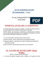 NOMENCLATURA DE EMISIONES PNAF