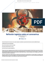 Logística y coronavirus _ ¿Cómo será el futuro de la cadena de suministro_