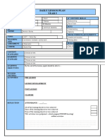 YEAR 5 LESSON PLAN TEMPLATE