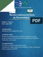 REVISTA DE PERSONALIDAD PERU