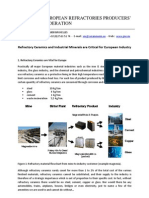 Refractory Ceramics and Industrial