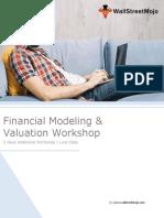 Financial Modeling & Valuation Workshop - WallStreetMojo