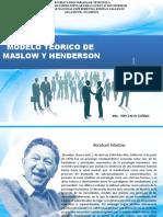 ABRAHAM MASLOW Y VIRGINIA HENDERSON