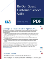 Be Our Guest! - Customer Service Skills_2