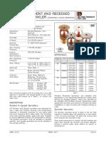 4 & 5 - HD-237_Pendent, Upright & Recessed Sprinklers